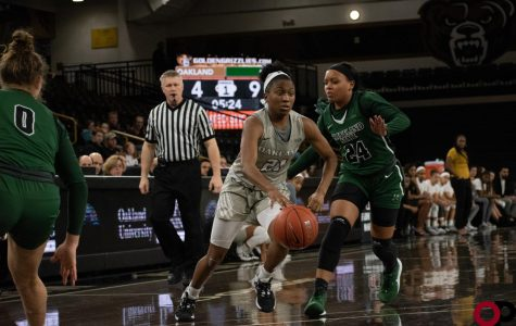 The Golden Grizzlies fall to the Cleveland State Vikings 79-58 on Saturday, Jan. 18 in the O'rena.
