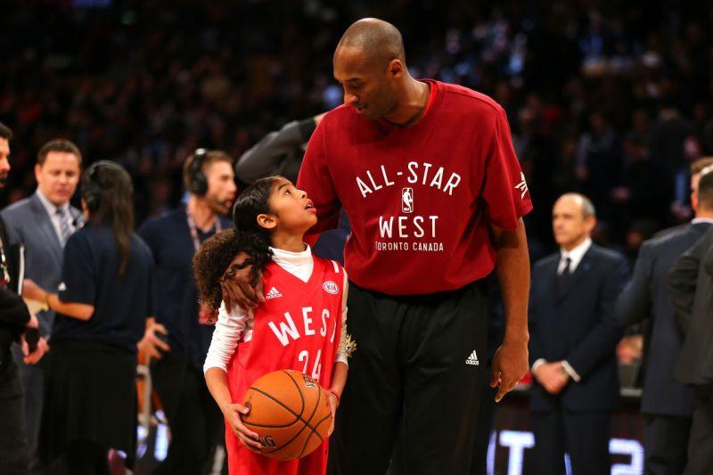 Celebrating Kobe and Gigi Bryant