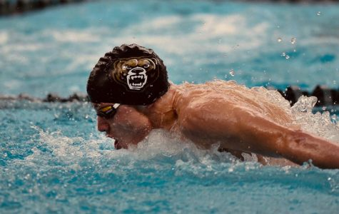 Sophomore swimmer Colton Phelps looks to accomplish his goals at the upcoming Horizon League Championship.