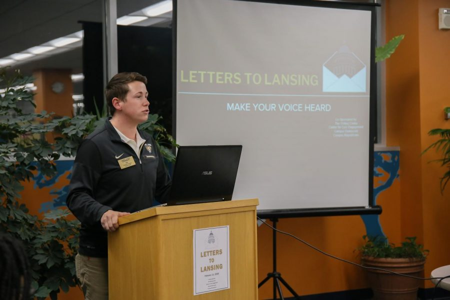 The Writing Center hosts a workshop on addressing letters to local representatives on Tuesday, Feb. 11.