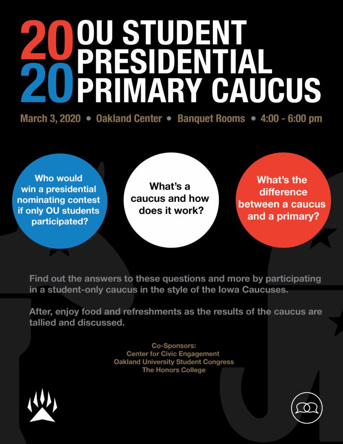 Center for Civic Engagement to host mock caucus event