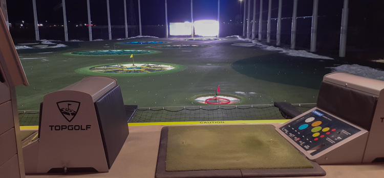 The Student Veterans of OU held their first winter semester event at TopGolf on Wednesday, Jan. 29.