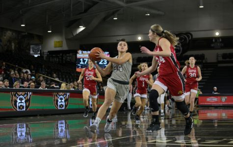 Women's basketball loses 89-63 to No. 1 IUPUI