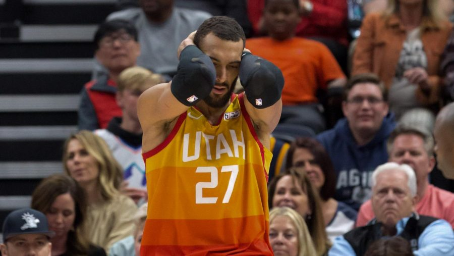 Utah Jazz center Rudy Gobert kicked off the sports world's mass postponing of games when he tested positive for coronavirus.