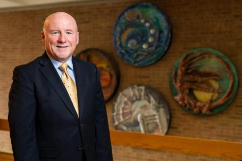Kevin Corcoran, dean of the College of Arts and Sciences, has delayed his retirement after the COVID-19 outbreak. Photo courtesy of Brian Bierley