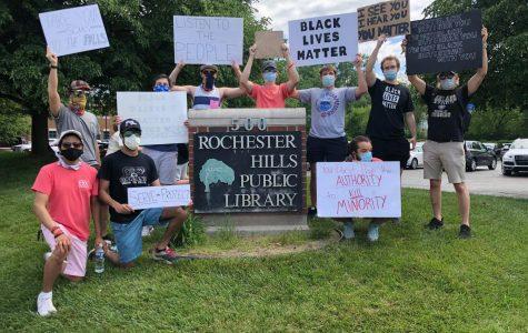 Students, alumni protest for Black Lives Matter