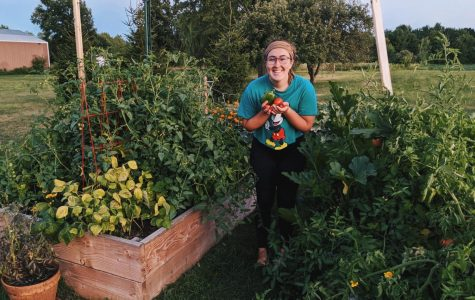 Gardening can provide emotional and psychological boosts. Erin O'Neill, an OU alum, started her own garden during quarantine.