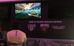 Oakland Esports athletes competing in the CRL Qualifiers for Rocket League