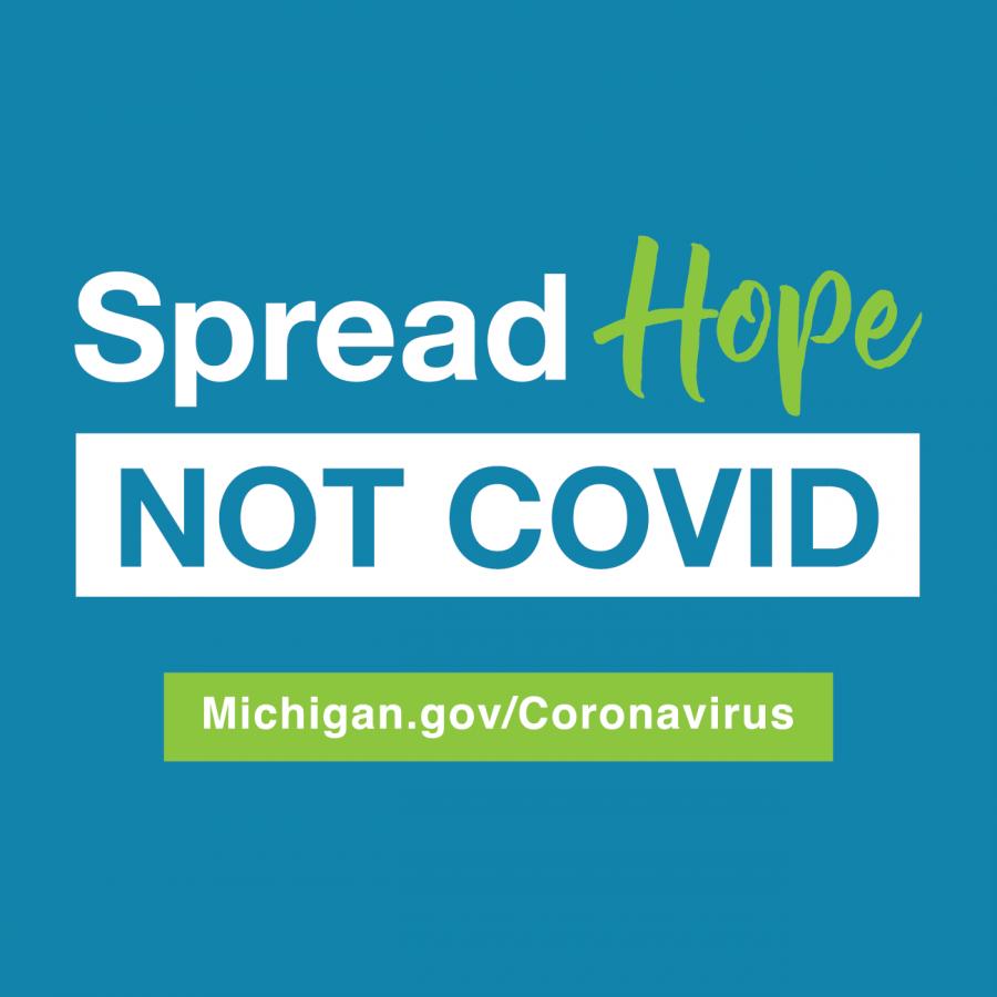OU endorses Gov. Whitmer's 'Spread Hope, Not COVID'