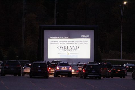 "Student Program Board hosted a drive-in event, showcasing ""Hocus Pocus."""