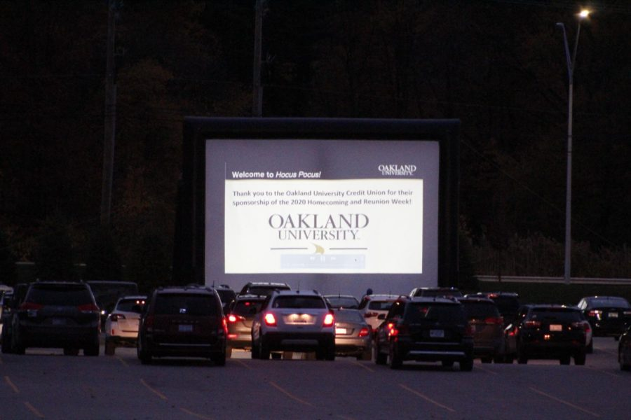 Student Program Board hosted a drive-in event, showcasing