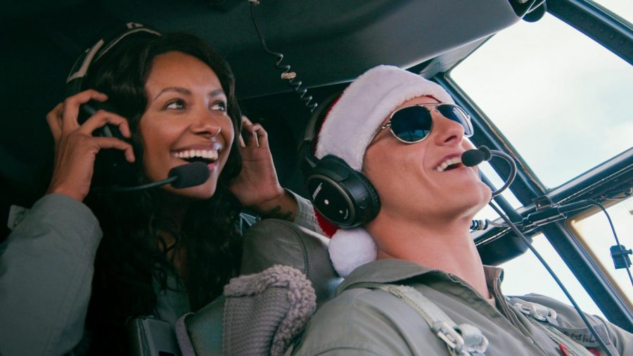 Operation Christmas Drop should have dropped the romance, and focused on the spirit of giving.