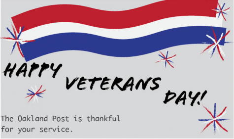 Veterans' Support Services celebrates Veterans' Day