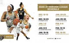 The women's basketball team's 2020-2021 conference schedule.