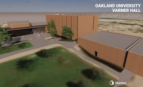 This is a projected overview of Varner Hall after the renovations. The design is still a work in progress though.