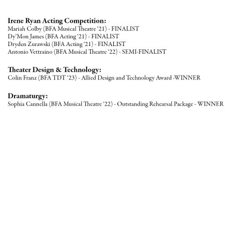 OU Students win at Kennedy Center Theater Festival