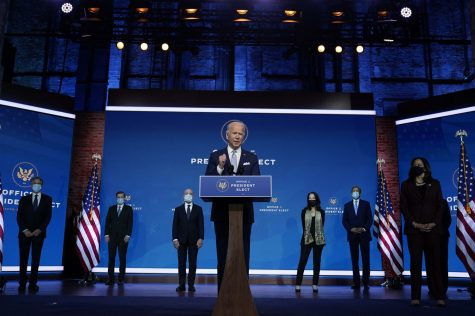 President-elect Joe Biden considers his cabinet and plans to make the cabinet represent all demographics in the U.S.