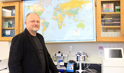 Taras Oleksyk is an assistant professor of biological sciences and the study's lead investigator.