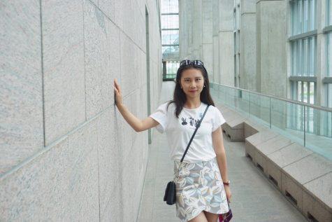 New professor of journalism-advertising Guolan Yang.