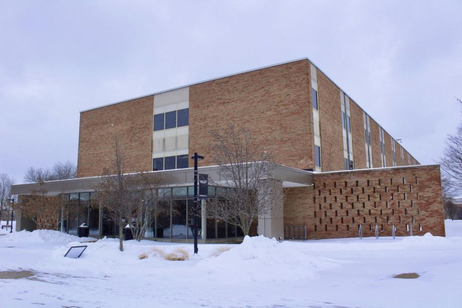 This is South Foundation Halls current appearance. Its renovation was originally put on hold because of COVID-19.