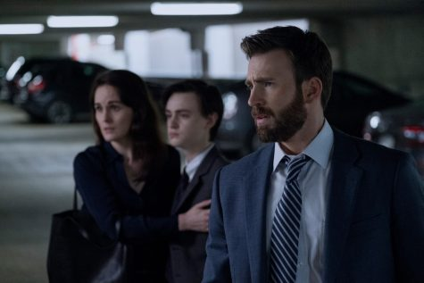 'Defending Jacob' stars Chris Evans and Michelle Dockery.