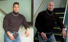 The Rock compares a past version of himself with himself now in an Instagram post. He opens up about the struggles he experienced in the past.