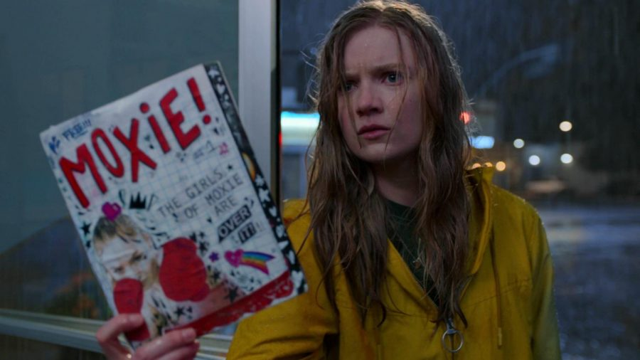 'Moxie' unpacks real-world issues, as Vivian (Hadley Robinson) starts a feminist revolution at her high school after being inspired by her mother (Poehler's) past