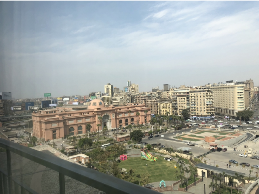 The Museum of Egyptian Antiquities in Tahrir Square located in downtown Cairo, Egypt. Photo Courtesy of Gabrielle Abdelmessih