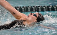 Susan LaGrand competing in a past meet. LaGrand represented Oakland at the NCAA Championships from March 17-20.