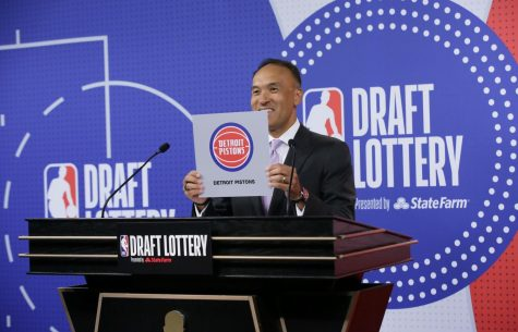 The Detroit Pistons won the NBA Draft Lottery, giving them the rights to the first overall pick for the first time since 1970.