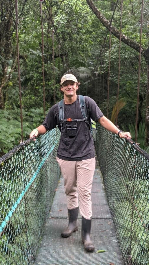 Junior Dakota Zehler is currently studying abroad in Costa Rica.