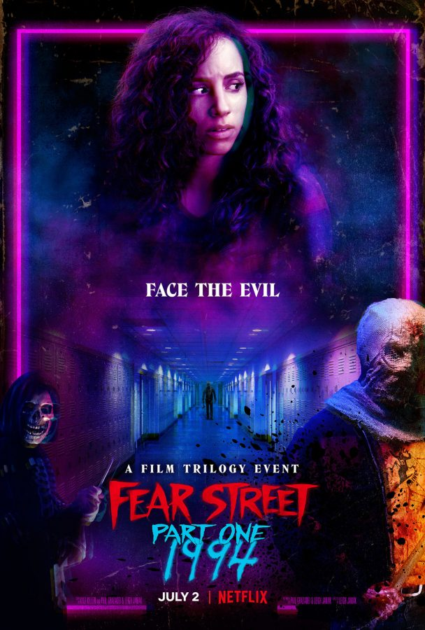 The spooky poster for Netflixs new film trilogy Fear Street. The films are based on R.L. Stines popular 1980s teen horror series of the same name.