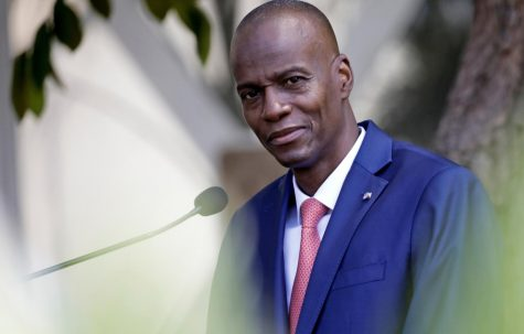 Jovenel Moise, president of Haiti, who was assassinated earlier this month. His murderers are unknown at this time.