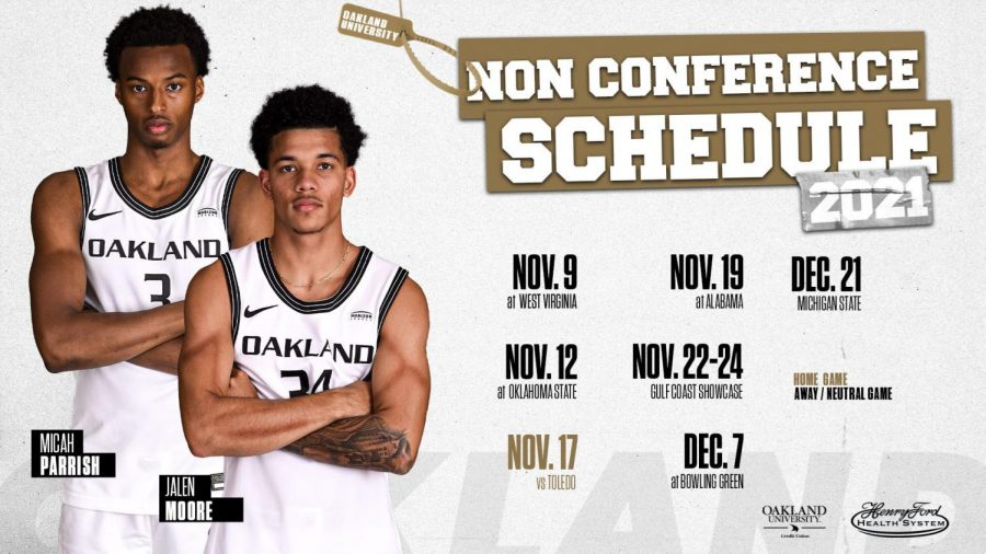 Mens baskteballs non-conference schedule has been released. Photo courtesy of OU Communications.