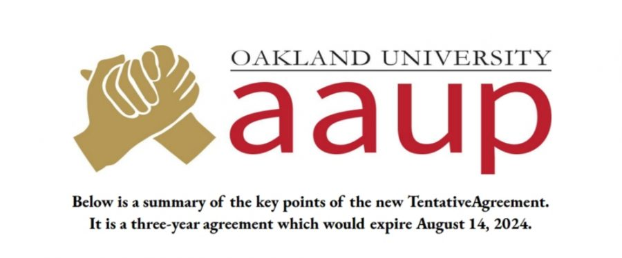 The header of todays release sent to OU AAUP members on the details of the new tentative faculty contract agreement. The agreement was reached at 12:20 a.m. Sept. 4 after over three months of bargaining sessions between the OU AAUP and university administration.
