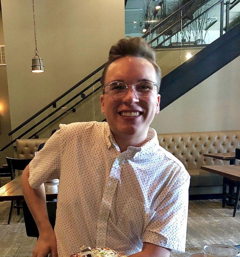 Oakland University student Alex Wright.