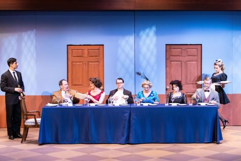 Clue: On Stage is being shown at Meadow Brook Theatre from Oct. 13 through Nov. 7.