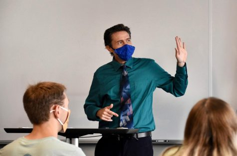 Dr. Kevin Laam (pictured here), associate professor of English, explains how historically speaking, English departments in universities have served to entrench English dominance in language, literature and culture.