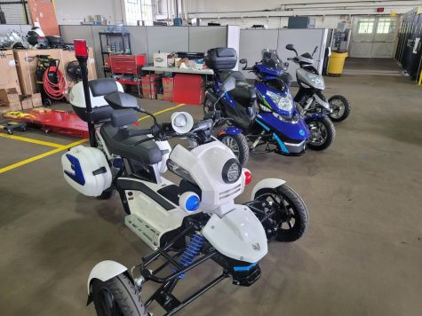 OU and Beryline Corporation are working to create a hybrid electric scooter.