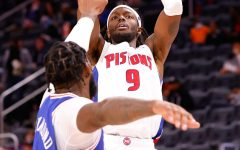 The Detroit Pistons beat a shorthanded Philadelphia 76ers last Friday.