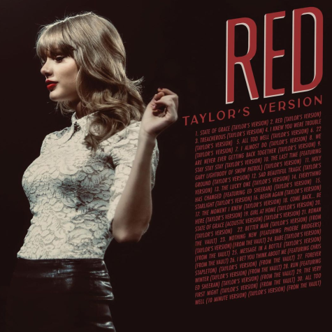 Taylor Swift has announced that her album Red (Taylors Version) will be out on Nov. 12, a week earlier than the original release date.