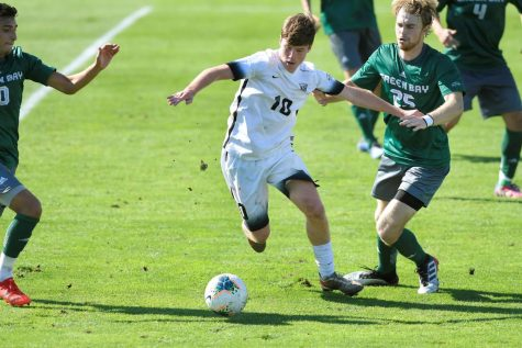 On Oct. 13, OU mens soccer played against University of Wisconsin-Green Bay. With the ending score of 3-1, the Golden Grizzlies had their second straight league match win of the season.