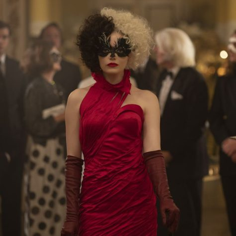 Cruella from Disneys live action movie is one of the trending Halloween costumes of 2021. Her red dress is one of her most popular looks.